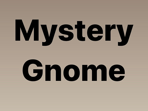 Mystery Gnome!
