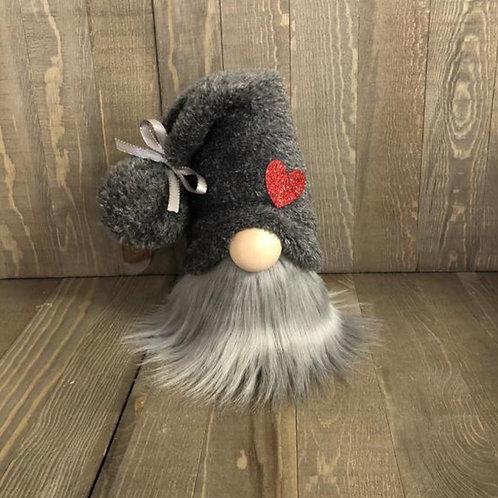 Grey Heart Gnome