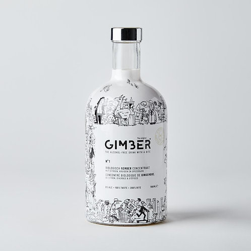 GIMBER 700ml  PIERRE KROLL Limited edition