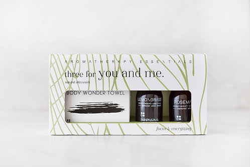 Three For You And Me 'Focus And Energizing'