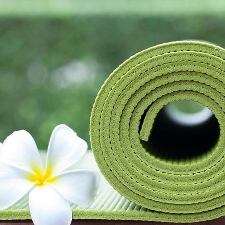 Hygiëne op de yogamat