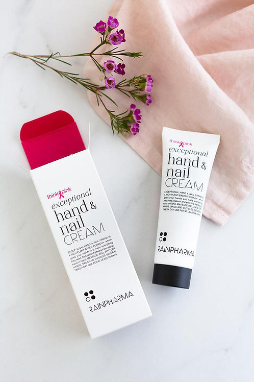 Exceptional Hand & Nail Cream Think Pink