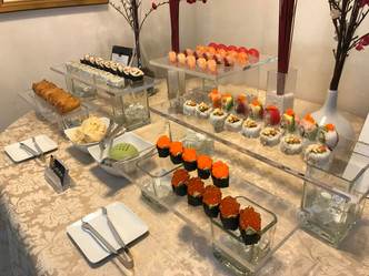 Custom sushi for small parties