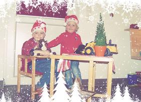Unsere Enkel sind schon im Weihnachtsfieber