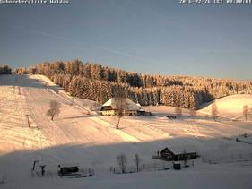 Bestes Winterwetter hier in Waldau