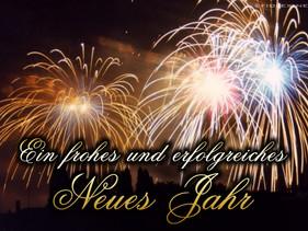 Wir wünschen allen unseren Gästen einen guten Rutsch ins neue Jahr 2016