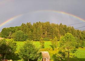 Der Goldtopf am Ende des Regenbogens...