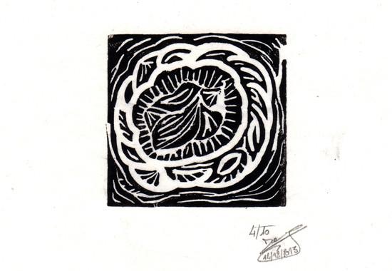 Gravid Linogravure n°2