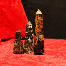 Pointe en pyrite