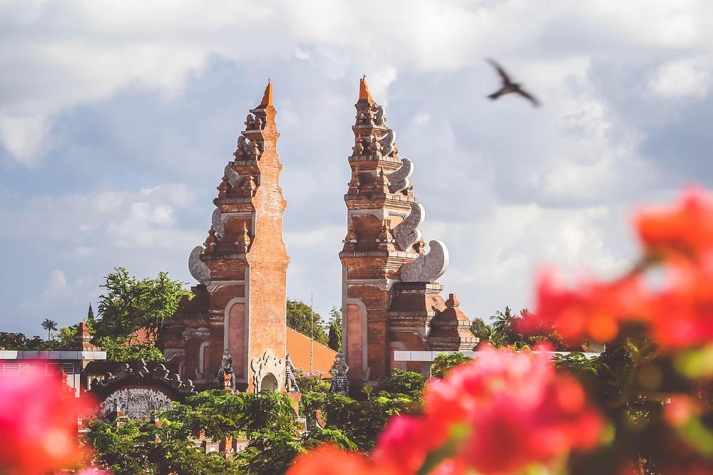 A tourist attraction in Bali