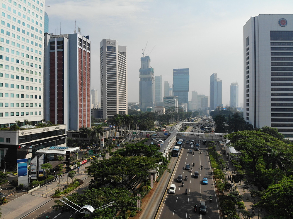 The city of Jakarta
