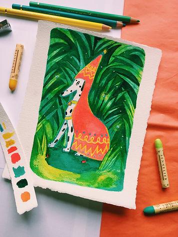 Angelina Wanczarskyj Painting 2