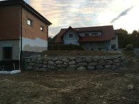Steinmauer Naturstein