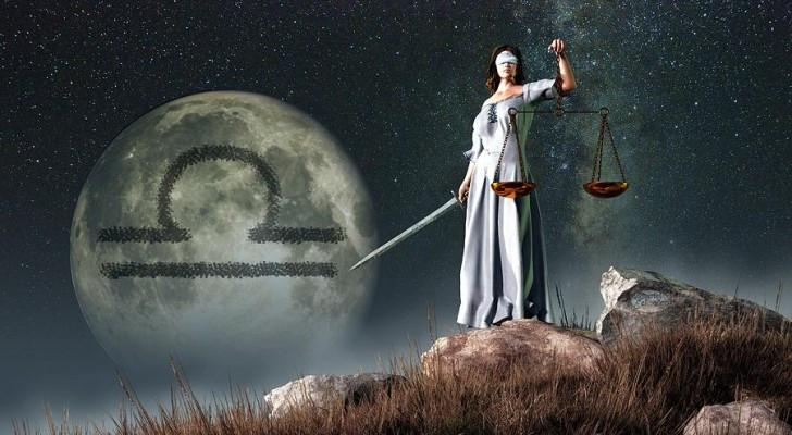 Libra e sua balança da justiça