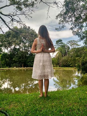 Na natureza me sinto viva e parte do Todo