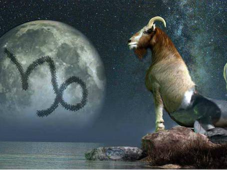 Série Lua nos signos - Capricórnio