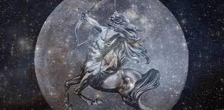 Série Lua no signos - Sagitário