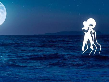 Série Lua nos signos - Aquário