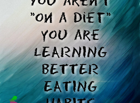 Why Going On a Diet Is Setting You Up to Fail.