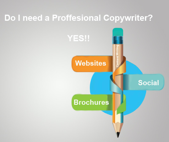 Does Your Business need a Professional Copywriter? Yes! Here's 5 Reasons Why