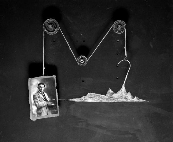 Sur le motif  Composition photographique en studio