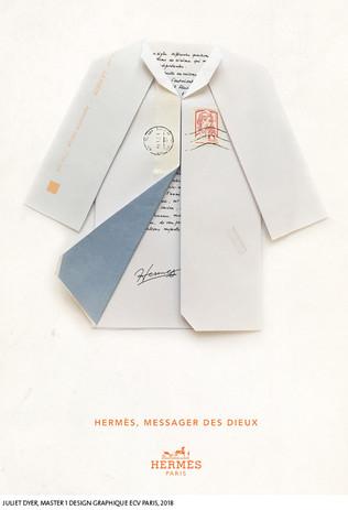 A partir d'une enveloppe...  Juliet Dyer, Master 1 Design Graphique, ECV Paris, 2018