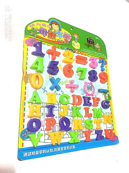 Bộ chữ cái và số đếm cho bé
