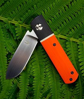 Barlow Style Flipper Liner Lock - Orange