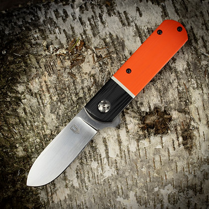 Black, Orange and White -  Barlow Flipper