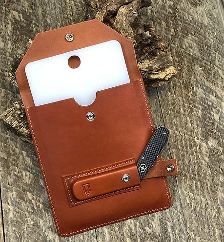 Leather Picnic Cutting board