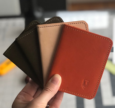 Leather Wallet - Assorted Colors