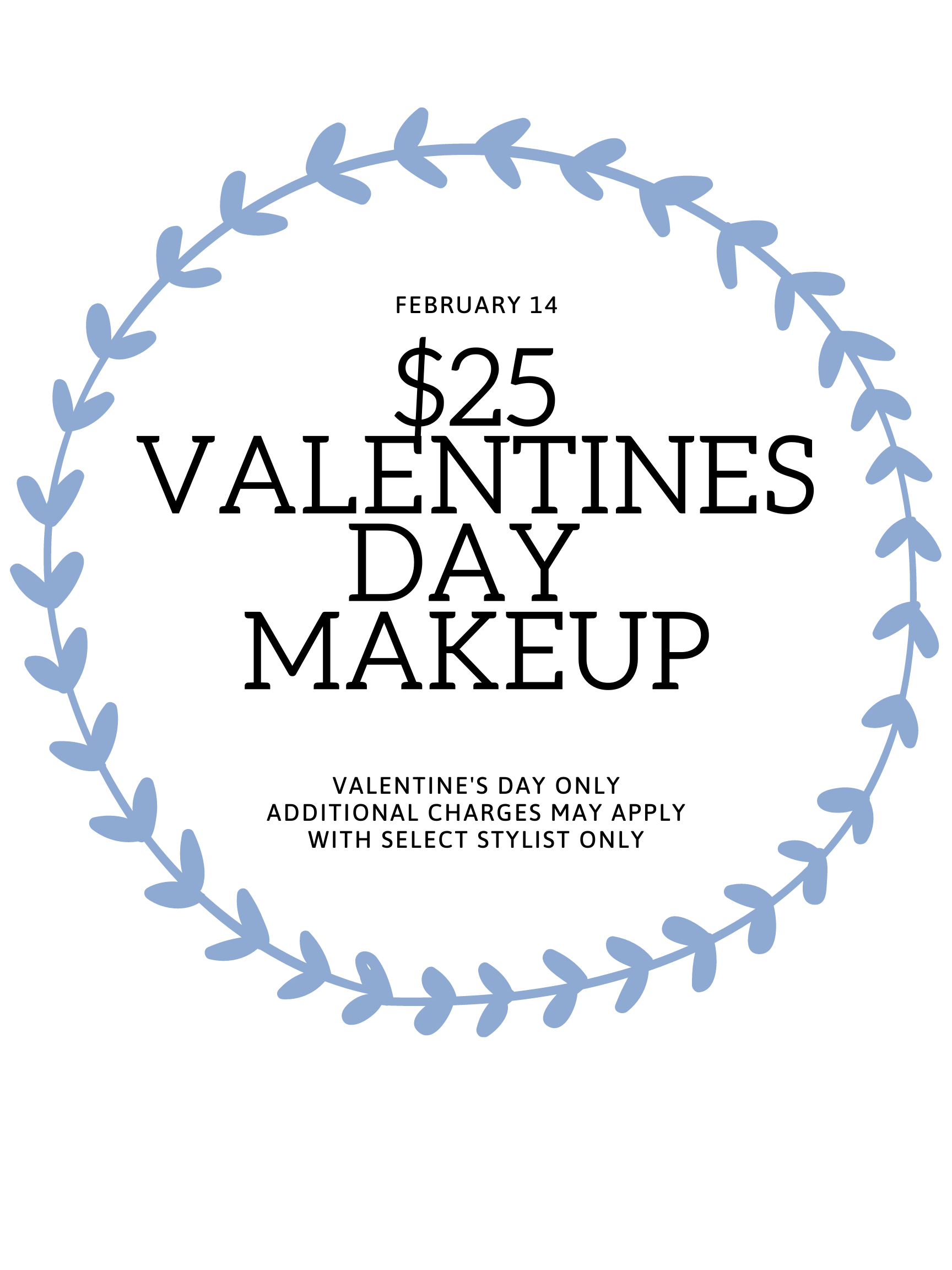 $25 valentines day makeup