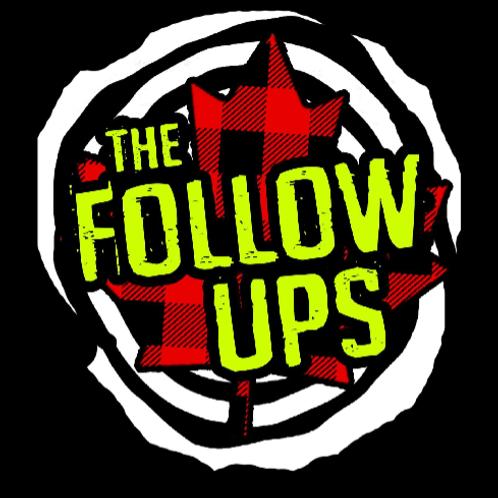 The Follow Ups Canadian Spiral Logo T-Shirt