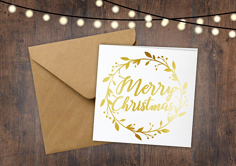 Merry Christmas - Pack of 6 Cards