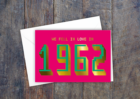 Personalised - Fell in love - Pink