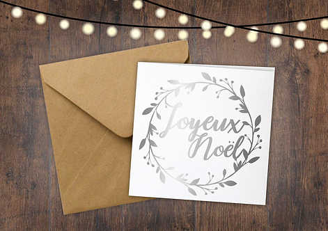 Joyeux Noel - Pack of 6 Cards