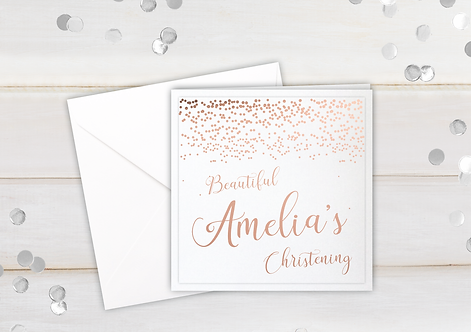 Dotted Baptism - personalised