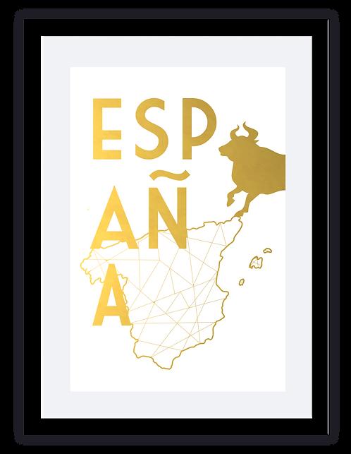 Espana Map