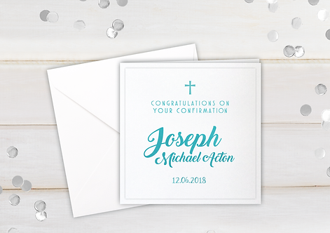 Confirmation - personalised