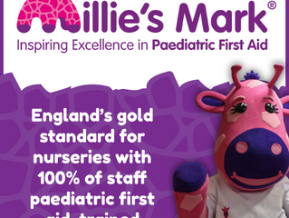 Vital First Aid Training is proud to support Millie's Mark