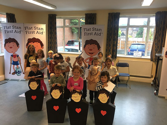 Flat Stan First Aid Workshop, First Aid for children