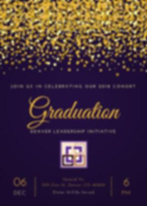 Purple and Yellow Graduation Ball Mardi