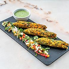 Sabzi Seekh Kebab