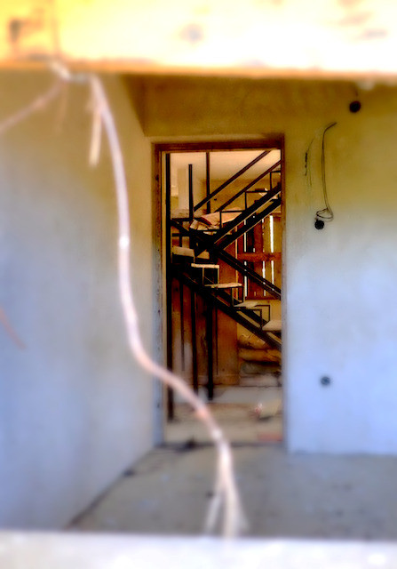 Blick in das spooky house