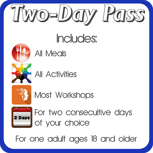 Adult Two-Day Pass
