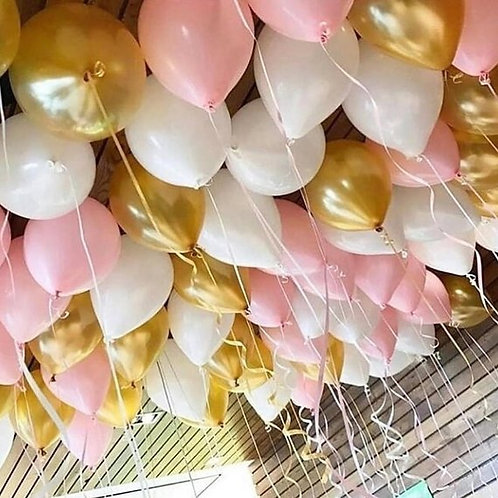 Fill a room with balloons !