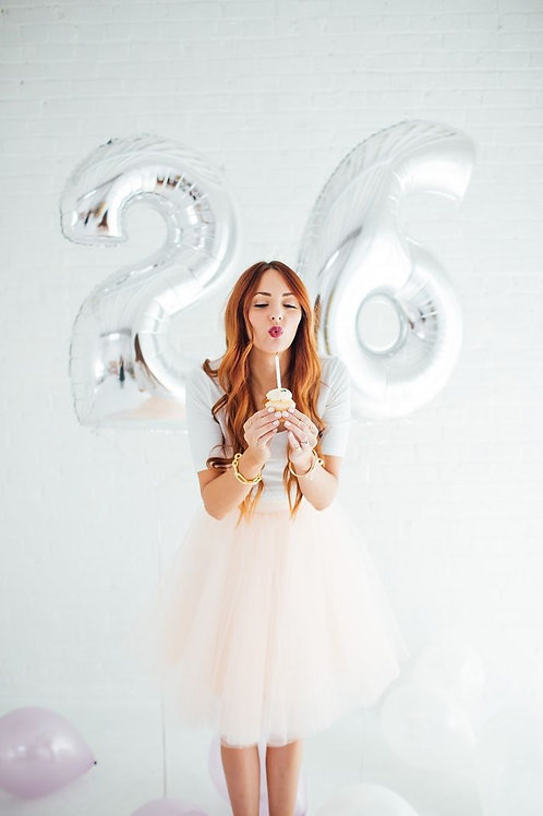 "34"" Foil Number Balloons"