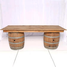 """Wooden Bar Top Only 8X4"""" - 2 Available"""