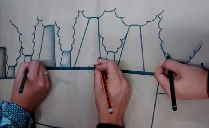 Desenho colaborativo