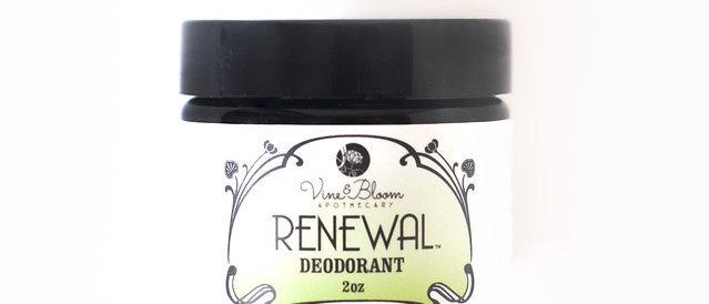 Renewal Natural Deodorant - Basil & Lemongrass 2 oz.